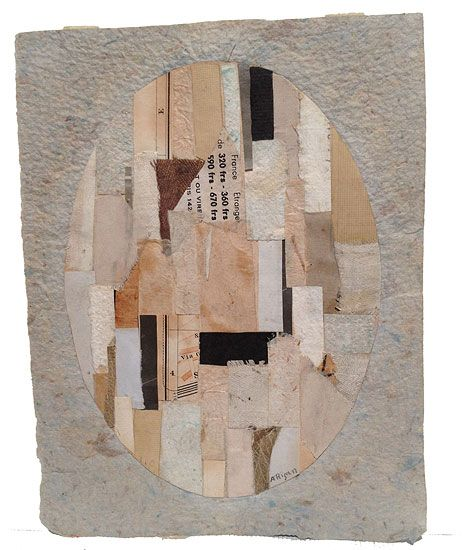 Anne Ryan, Untitled (#478), c. 1948-54, collage on paper, 7 1/4 x 5 5/8 in
