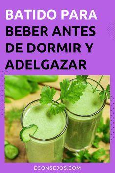 Tomar este zumo antes de dormir, acelerará su metabolismo y perderá peso mucho más rápido