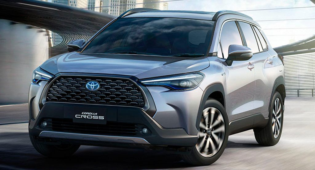 Toyota Has No Plans To Bring The Corolla Cross To America For Now Carscoops Toyota Corolla Toyota New Car Corolla