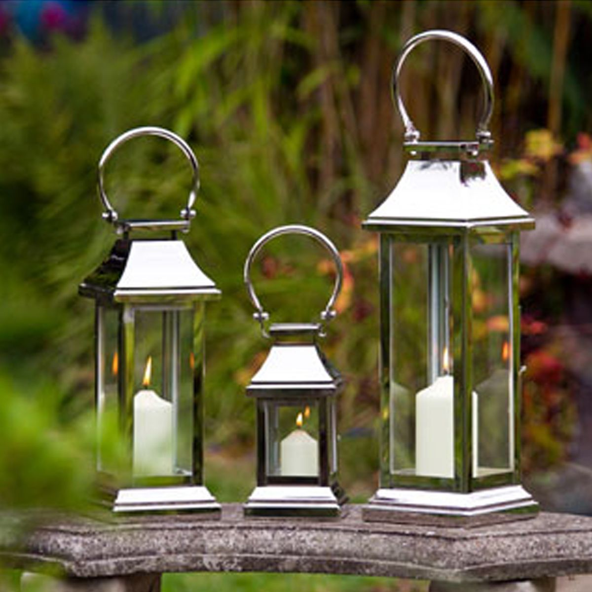 Image Detail For  Garden Lanterns | Tall Lanterns | Candle Lanterns |  Wedding