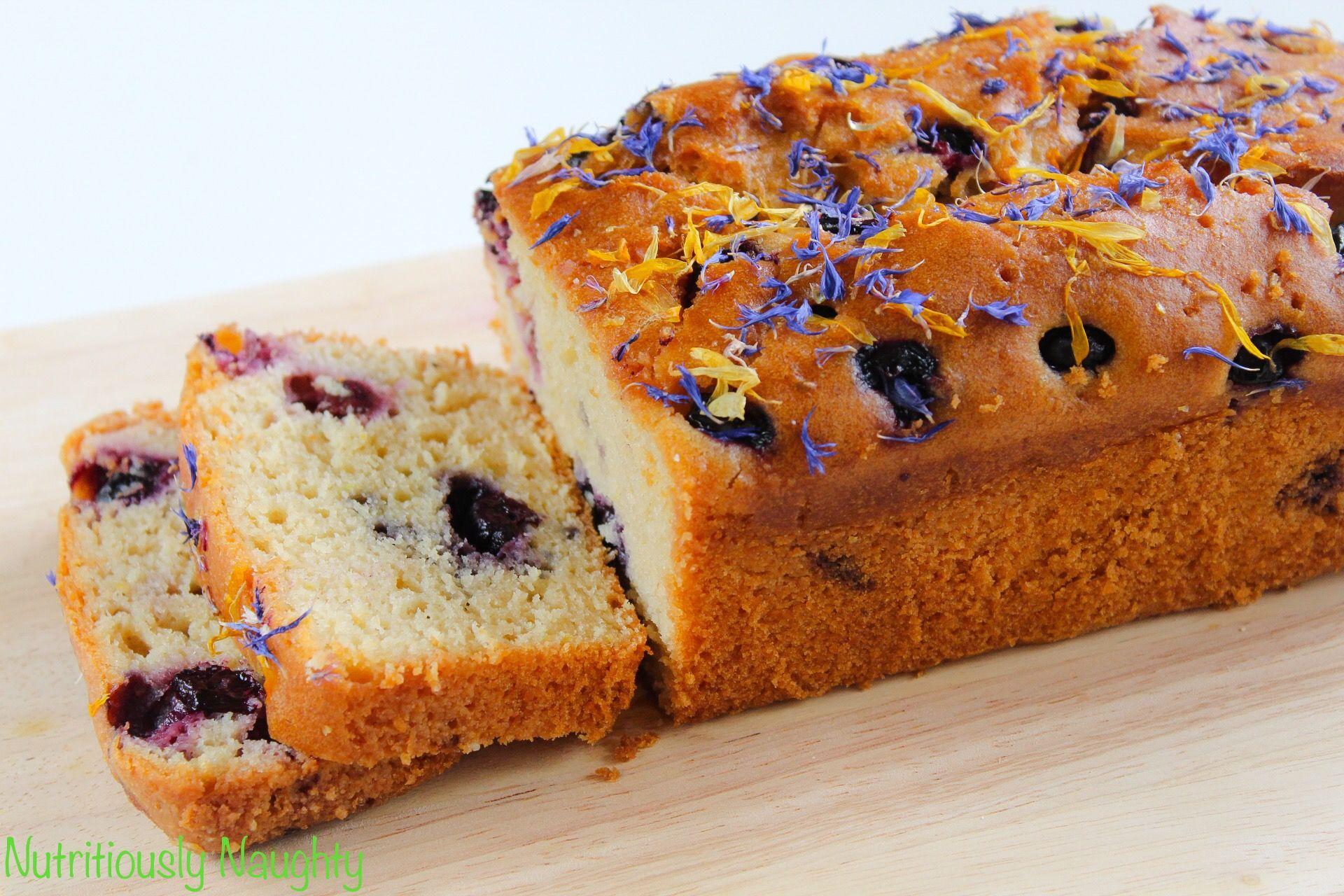 Lemon blueberry loaf cake with images diabetic