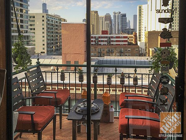 This Is The Coolest Apartment Balcony In Chicago. Outdoor PatiosOutdoor ...