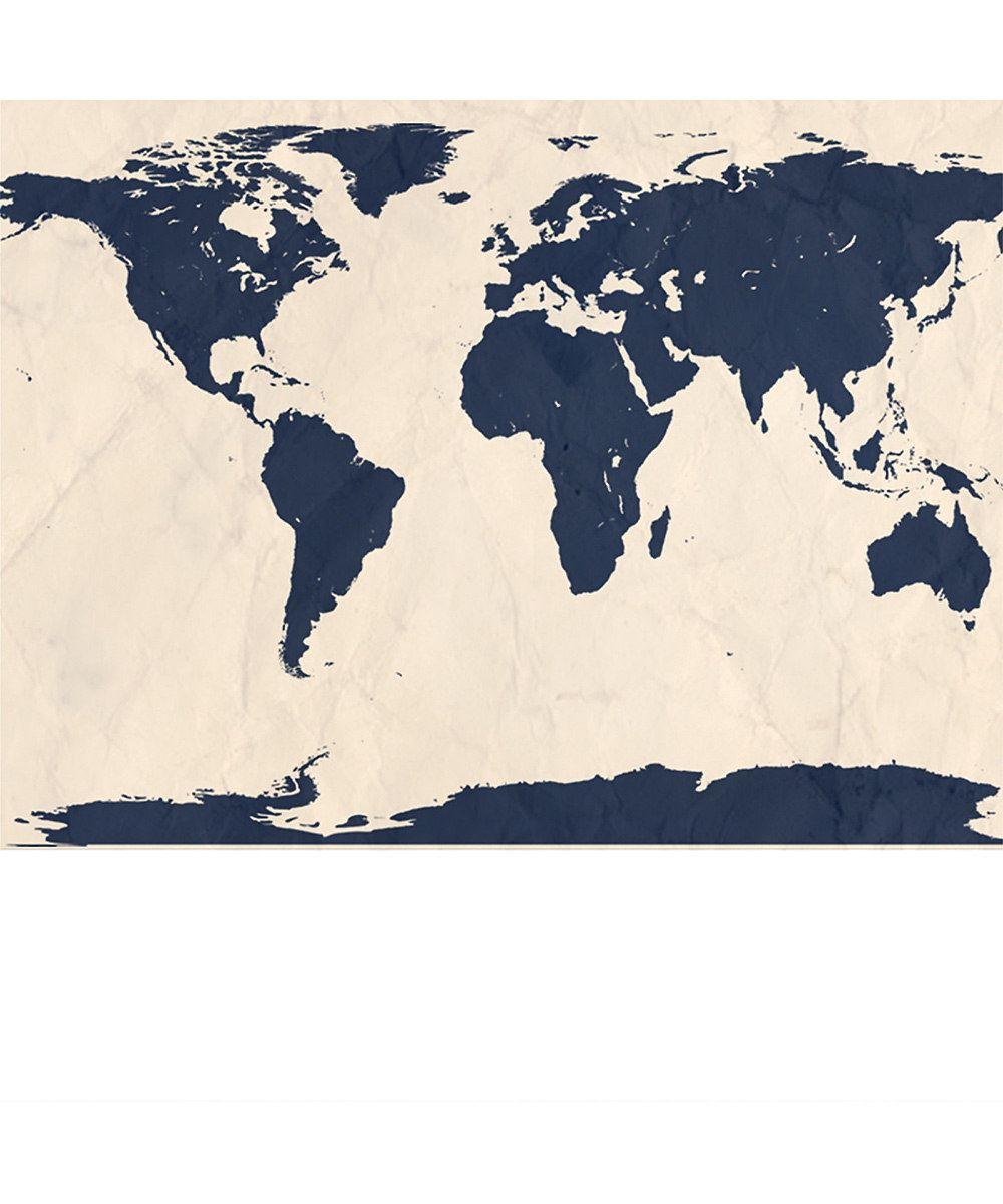 Navy world map wallpaper zulily maps charts unique navy world map wallpaper zulily gumiabroncs Image collections