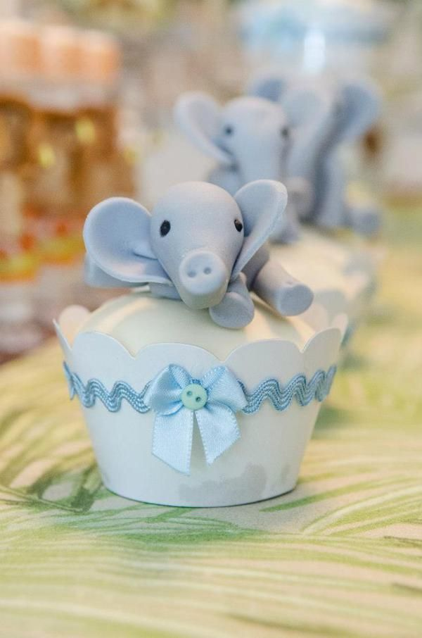 Boy Baby Shower #BabyShower #Cupcakes