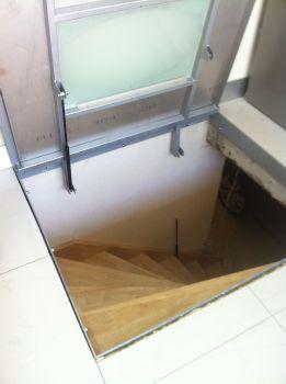 Trappe escalier sous-sol ouverte | Cave | Pinterest | Cave ...