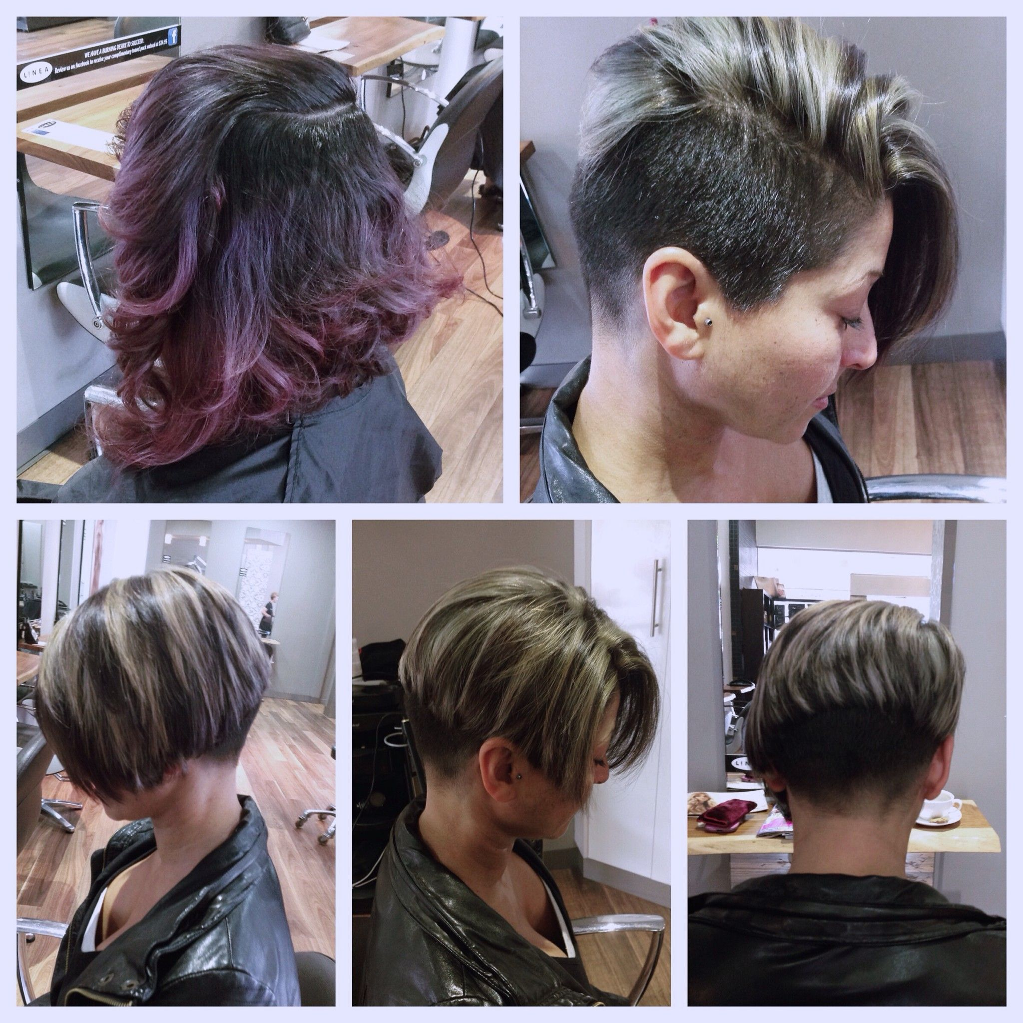 Hairstyle Undercut Steps
