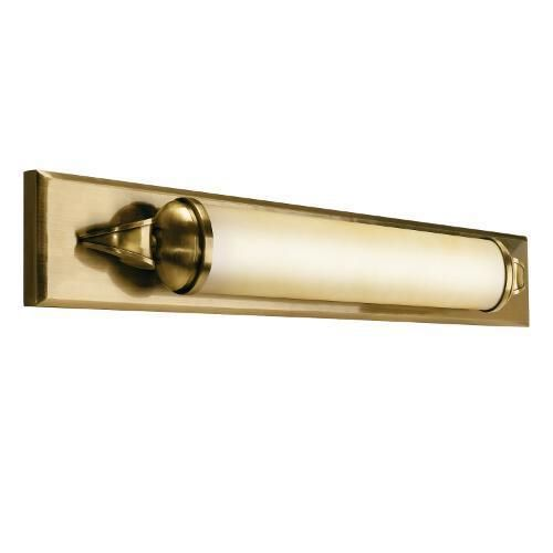 Genial One Light Brass Bathroom Sconce | Williams Lighting Galleries