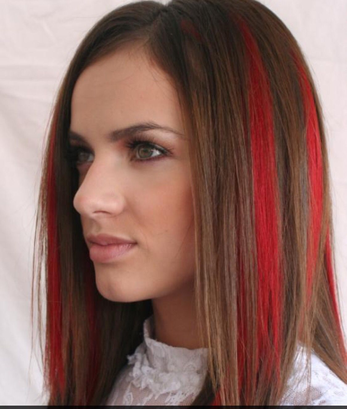 Brown Hair With Red Streaks Dark Hair With Highlights Dark Red Hair Color Red Hair Color