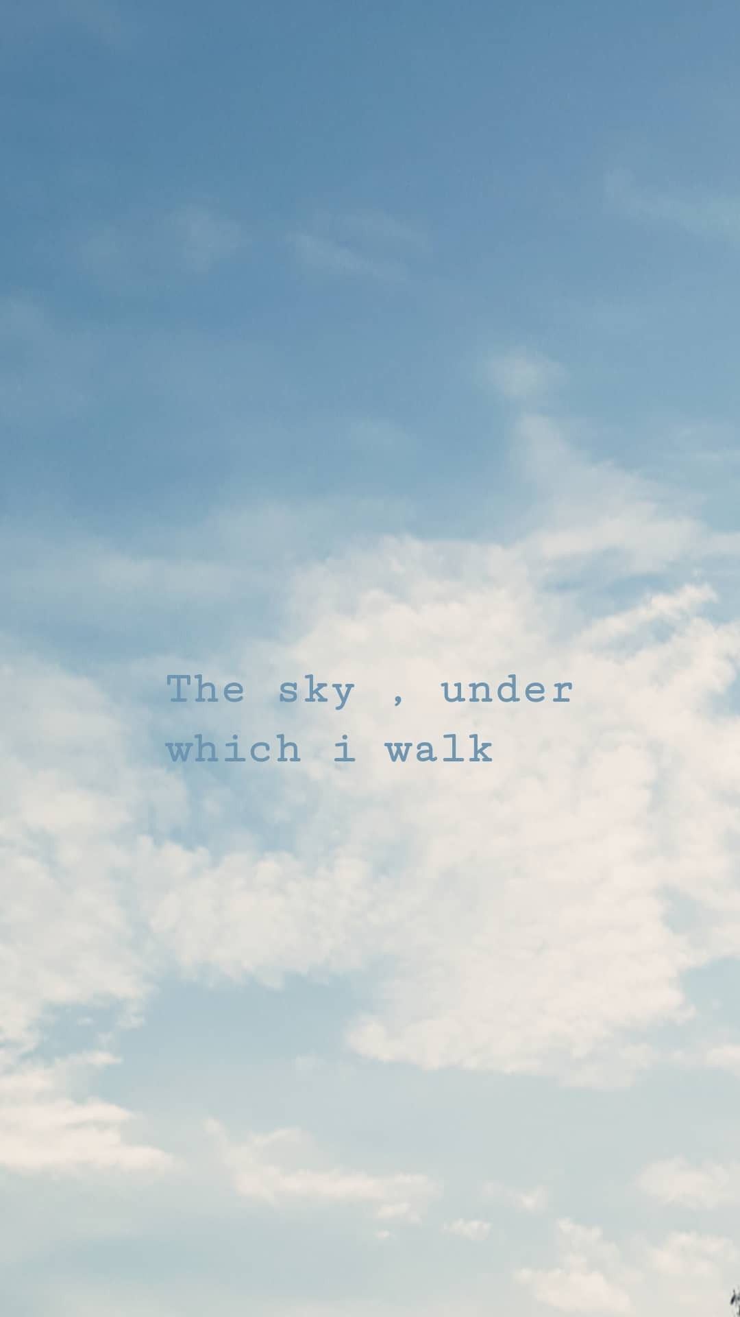 Sky Clouds Aesthetic Wallpaper Quotes  Sky quotes, Blue sky