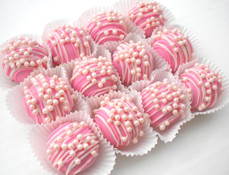 "Gluten Free ""Pretty-n-Pink"" Cake Ball Truffles"