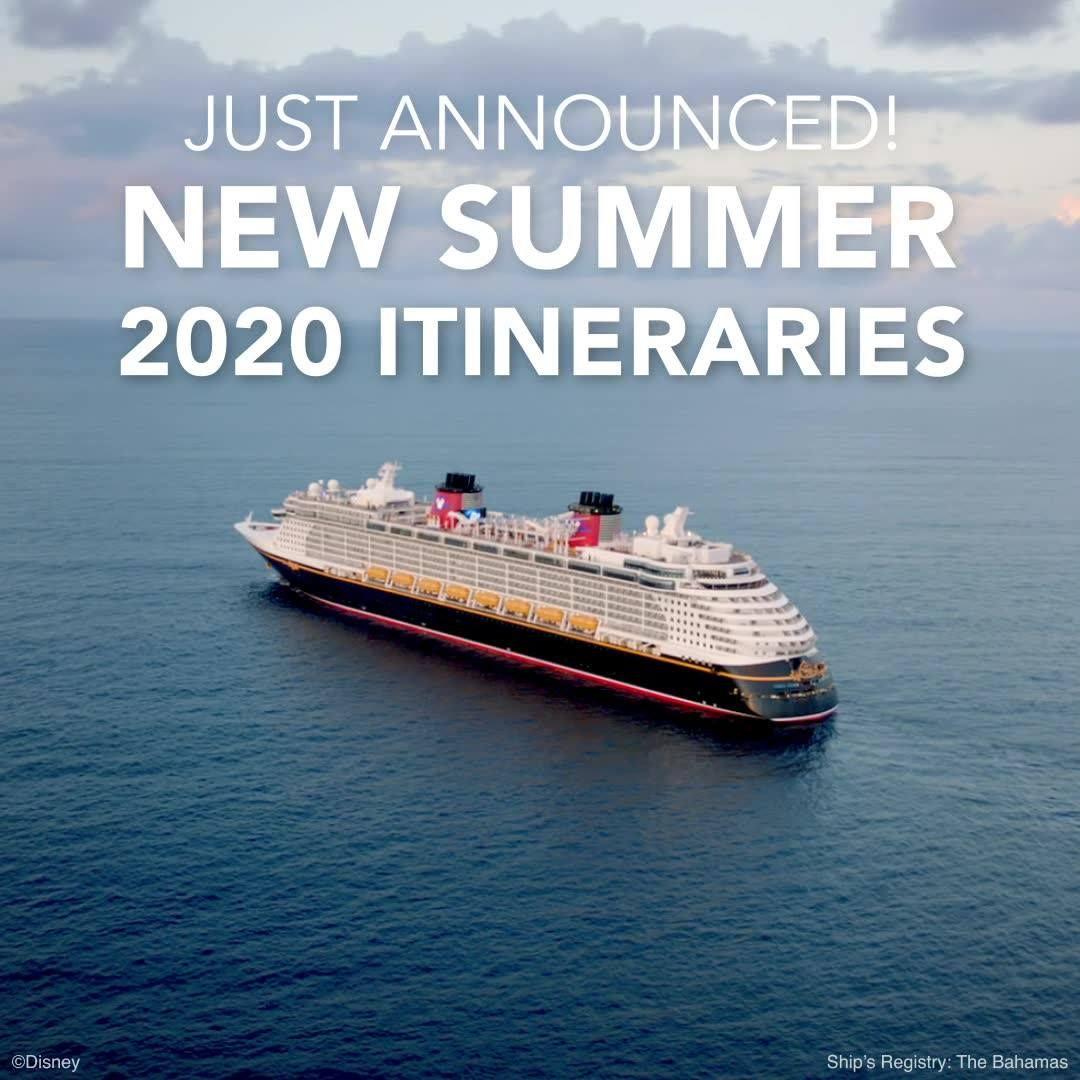 Disney Cruise Summer 2020.Disney Cruise Line Summer 2020 Itineraries Have Been