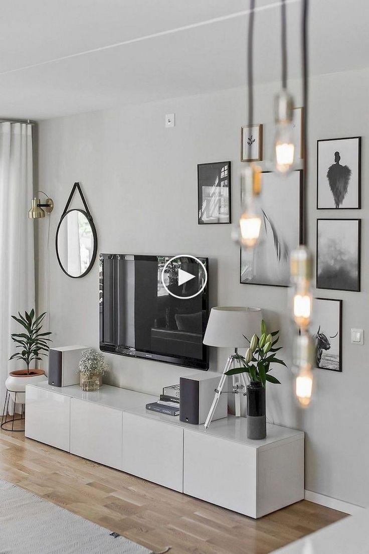 18+ idées de design de salon minimaliste confortable #ideesdesalon