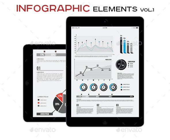 Infographic Elements Template Vol   Infographic Element Chart