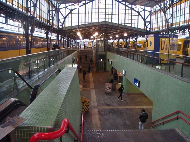 Station Hengelo Trein Nederland