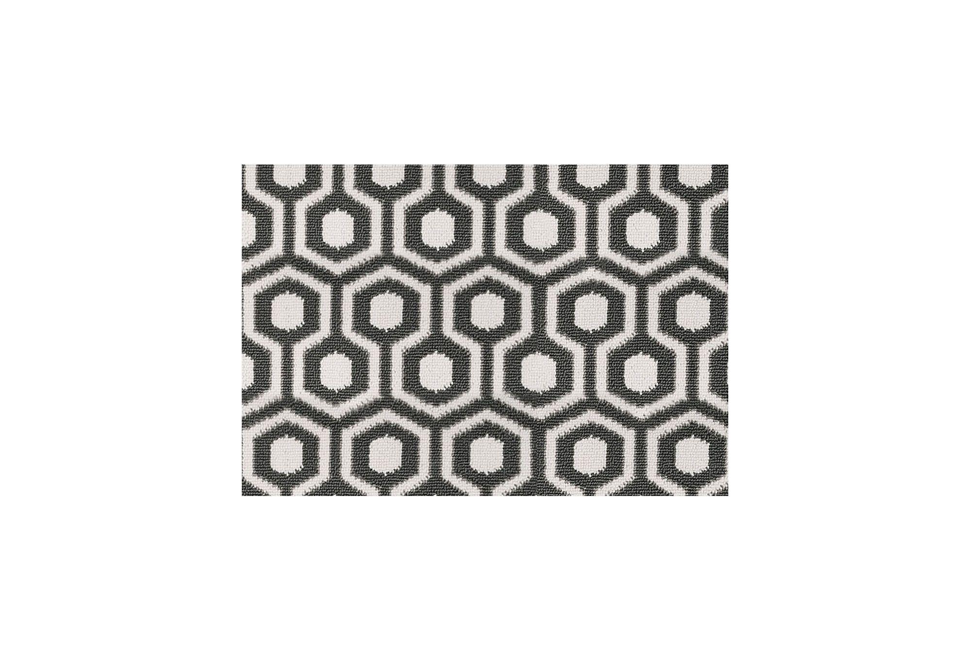 Papier Peint David Hicks david hicks hexagon rug, charcoal/gray | pattern play