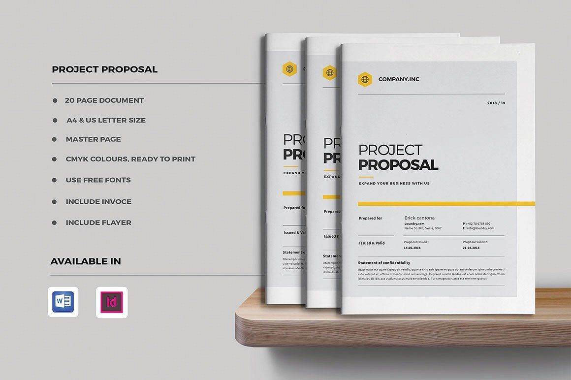 Project Proposal INCLUDEpagessizeletter Portfolio