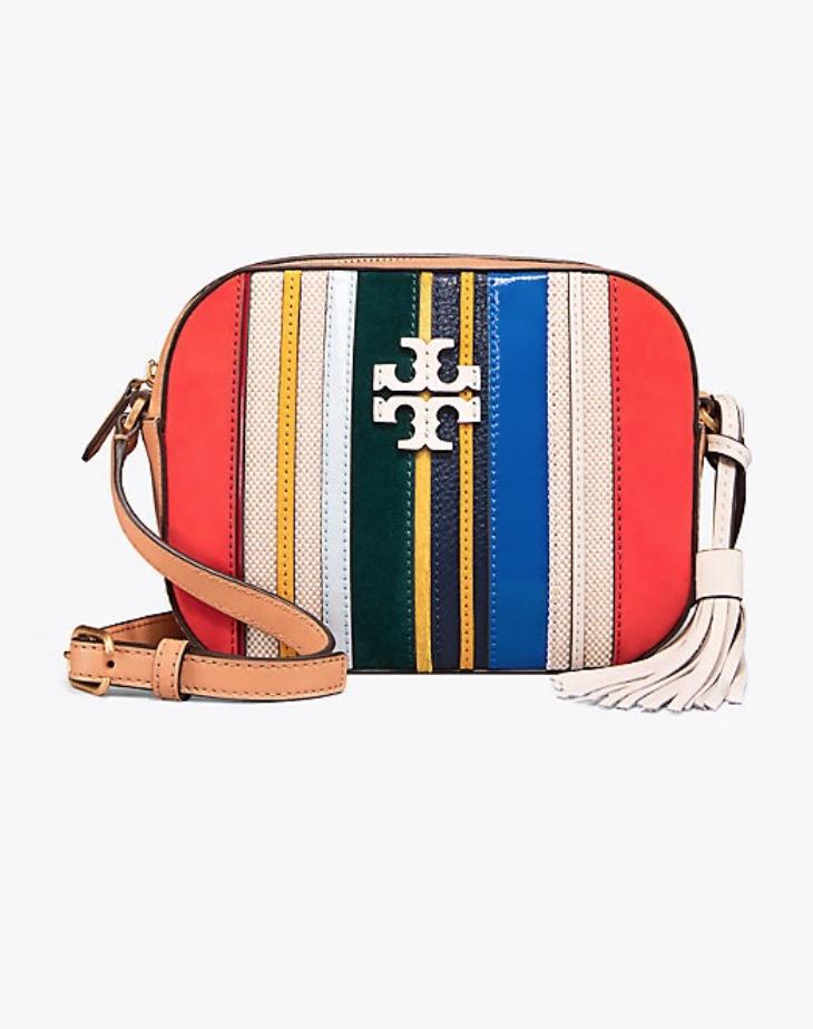 b118a3061367 Tory Burch McGraw Striped Camera Bag | Spring/Summer 2018 | Bags ...