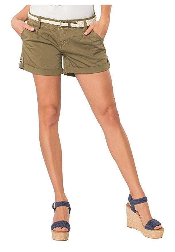2019 am besten großer Rabattverkauf Entdecken Sie die neuesten Trends Eight2Nine Damen Shorts mit süßer Häkelspitze | Leichte ...