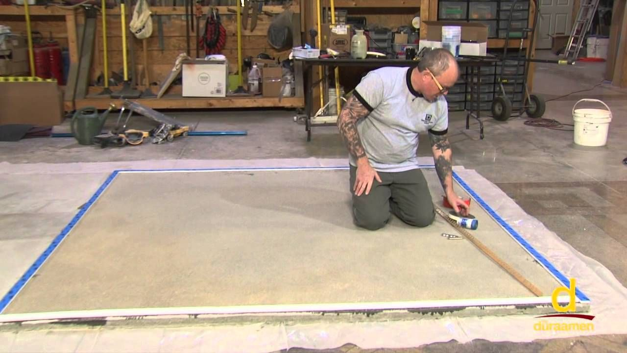 How To Polish Self Leveling Concrete Overlay Part 2 Concrete