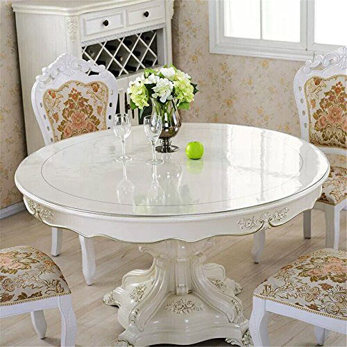 Ostepdecor 2 0mm Thick Crystal Clear 48 Inches Round Table