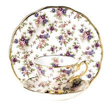 1940's Cup / Saucer and Plate