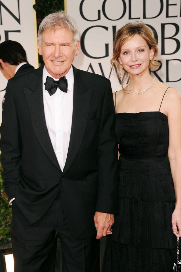 Harrison Ford at the Golden Globes 2012