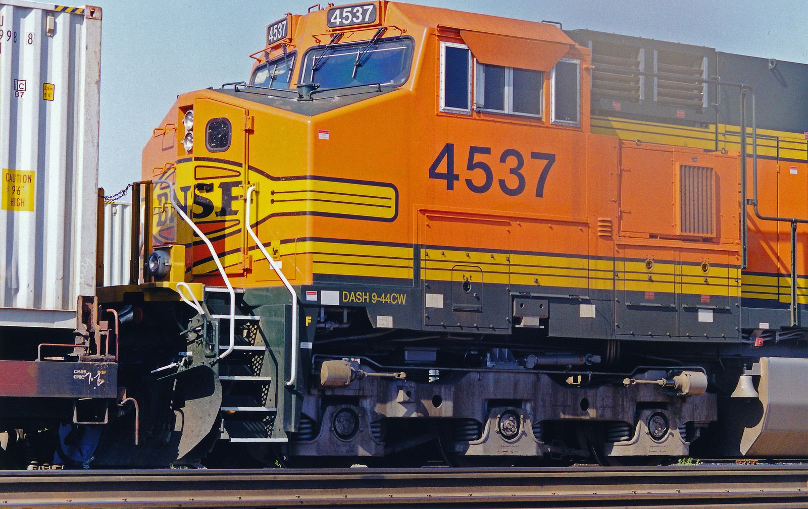 BNSF C44-9W No  4537 At Hobart Yard | Railroads - BNSF