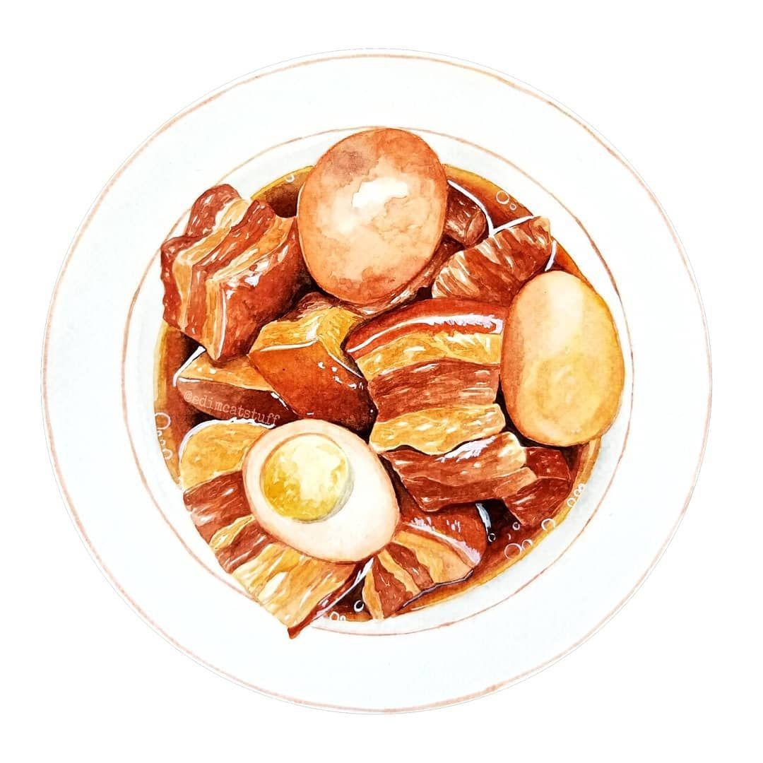 """D.Ngoc on Instagram: """"Thịt kho tàu - vietnamese br"""