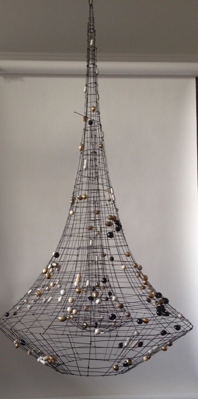 Make a big statement with marie christophes eiffel towering make a big statement with marie christophes eiffel towering single spotlight chandelier for jean mozeypictures Choice Image