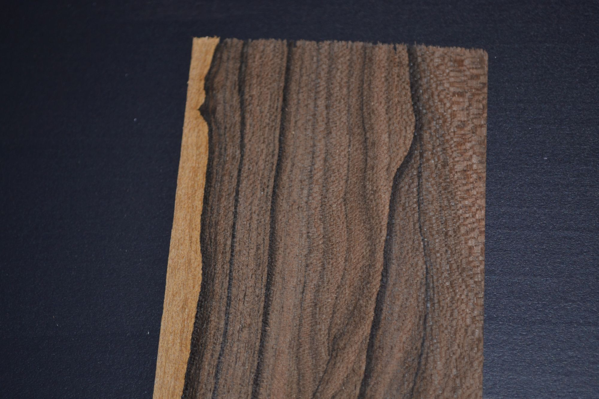 Ziricote Raw Wood Veneer 10 Sheets At 3 X 16 Inches 1 42nd Or 6mm Thick Wood Veneer Raw Wood Veneers