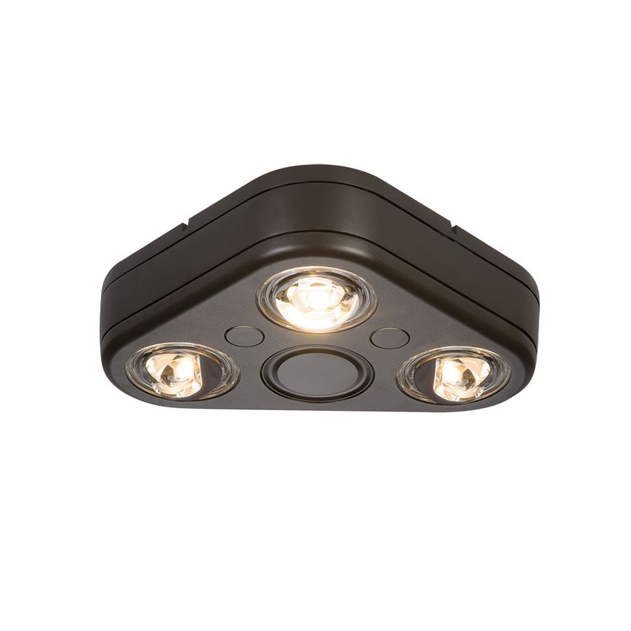 All Pro 7 8 In 2400 Lumen Integrated Led Bronze Switch Controlled Floodlight Lowes Com Flood Lights Security Lights Motion Activated Light