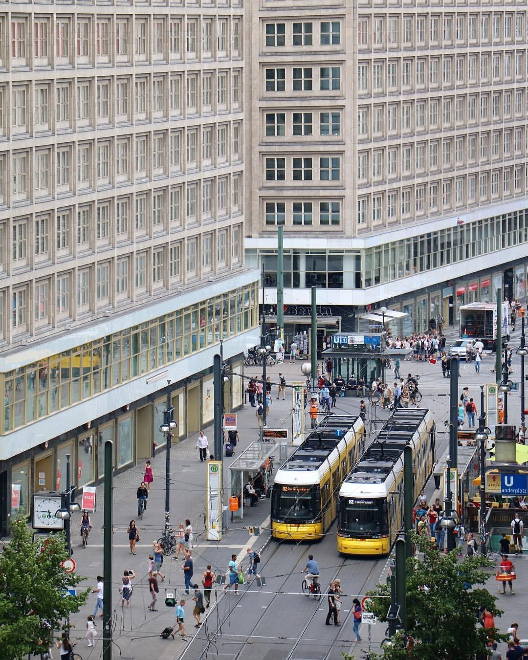 A Different Perspective Berlin Alexanderplatz I Wish You All A Happy Weekend
