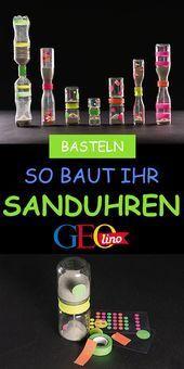 Sanduhren zeugen: So geht's!  The post Sanduhren machen: So geht's! appeared fir…