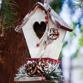 Christmas Birdhouses | CHRISTmas! The most wonderful time of the ...