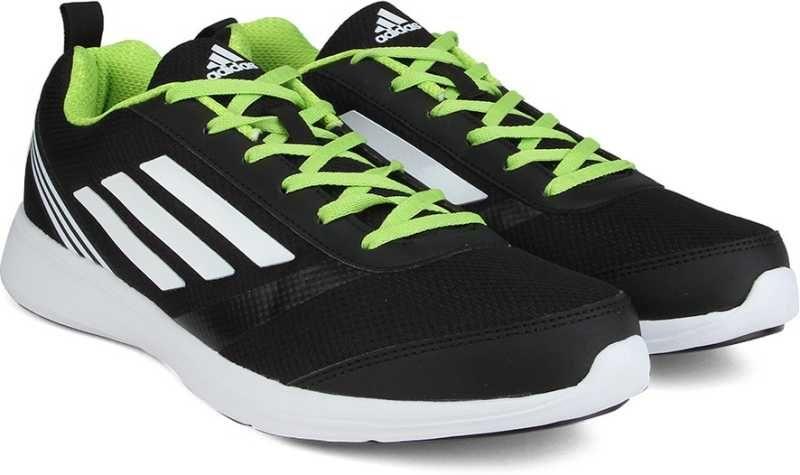 ADIDAS ADIRAY M Men Running Shoes For Men (Green, White, Black ...