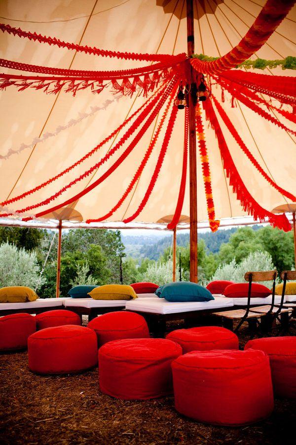 Festival Tent Sfeervol Decoratie En Design Lighting And