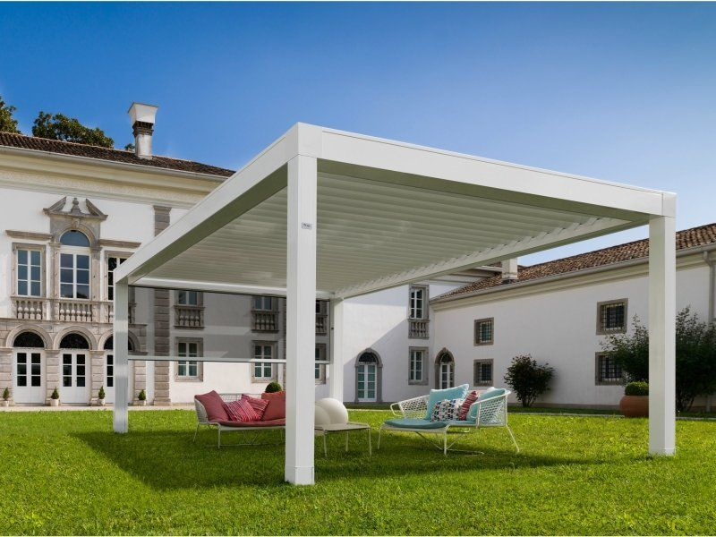 stoff mit seilen bespannen moderne pergola mit rollos. Black Bedroom Furniture Sets. Home Design Ideas