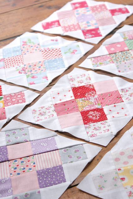 Messy Jesse's granny squares = cute
