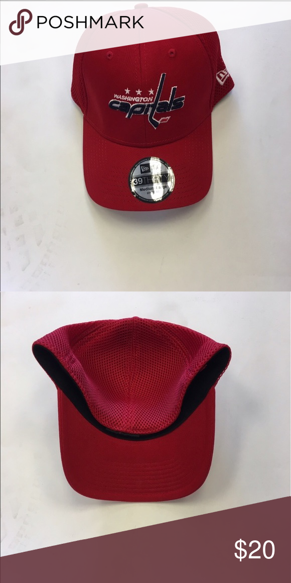 00cb2f50b Washington Capitals New Era Flex-Fit Hat Washington Capitals New Era  39Thirty Flex-Fit Hat. Save money by bundling with other items in my store.