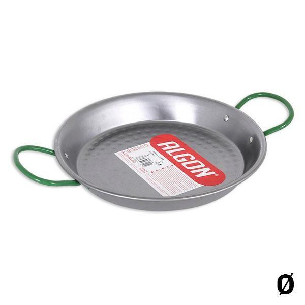Pan Algon Polished steel - Ø 28 cm - 3 portions