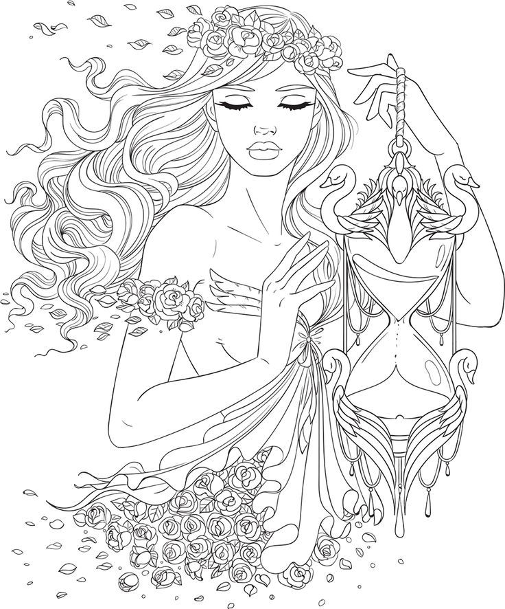 Line Artsy Free Adult Coloring Page Time Uncolored Free