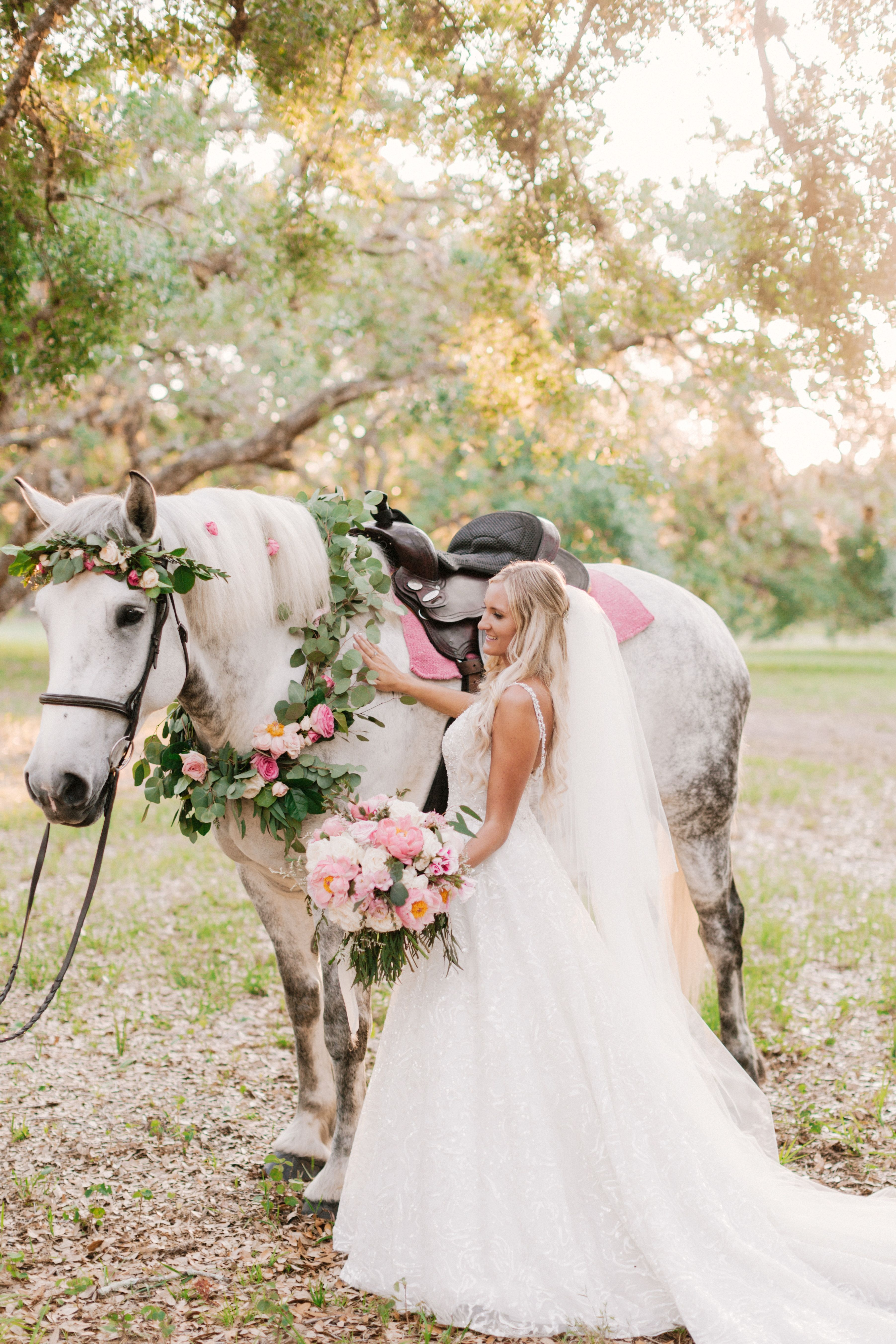 A Magical Fairytale Outdoor Wedding In Jasmine Couture Style