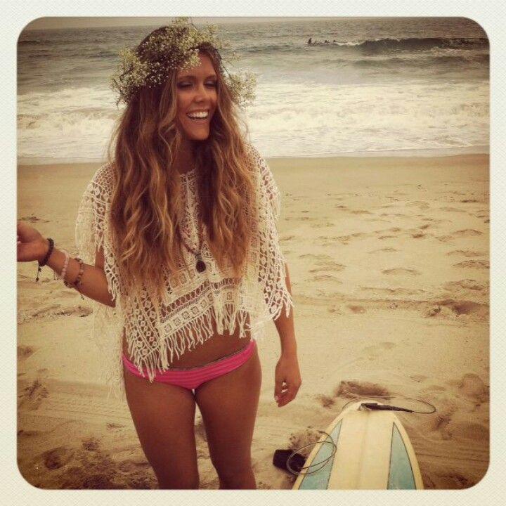 Cute beach look #boho #look