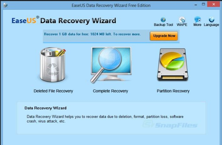 easeus usb data recovery