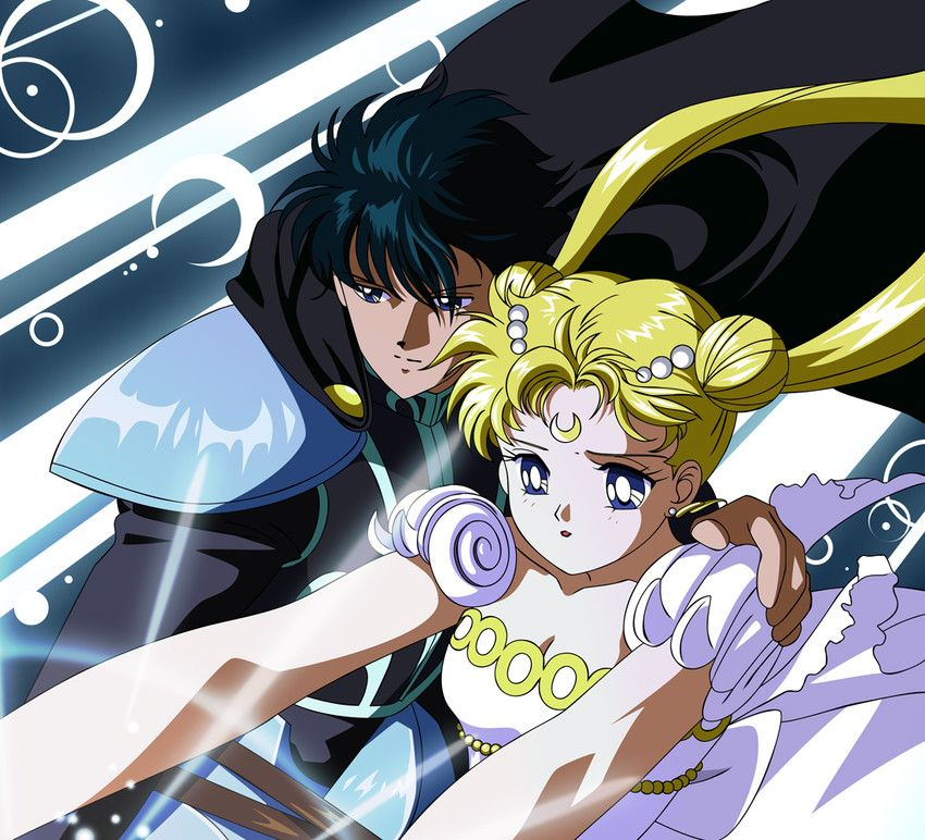 We will fight together | Tuxedo Mask & Sailor Moon | Pinterest ...