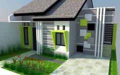 Rumah Sederhana Hijau Desain Atap Rumah Minimalis Sederhana