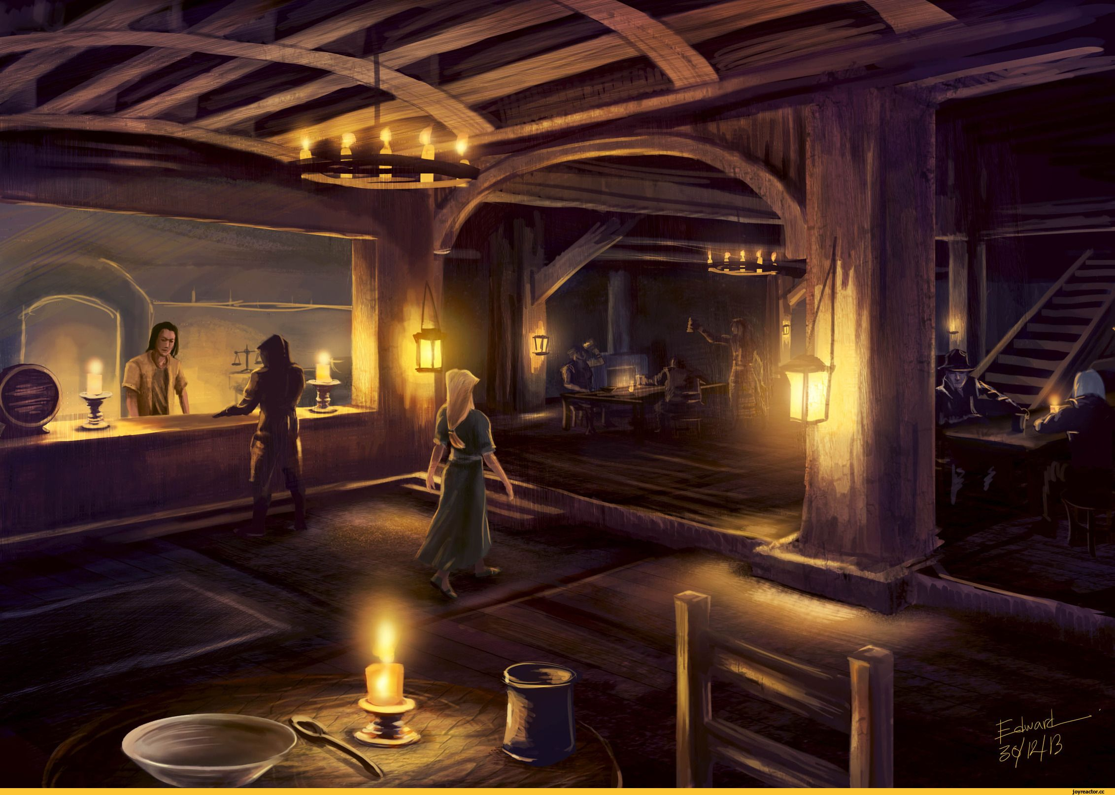 Pin By Vm Therrien On Pubs Inns And Taverns Fantasy Fantasy