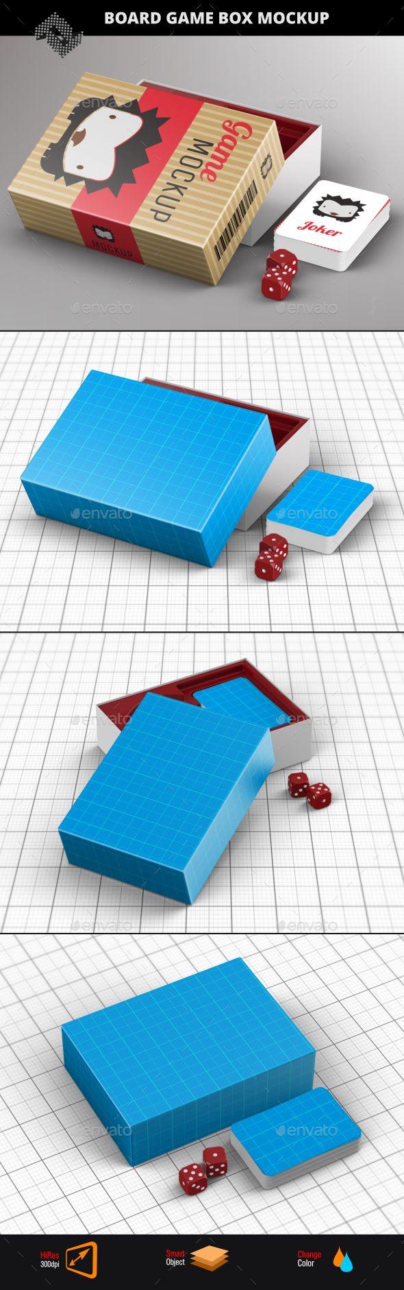 Download Board Game Box Mockup Board Game Box Board Game Design Games Box