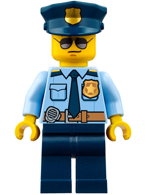 Cty778 Lego Police Lego Party Hat Police Hat