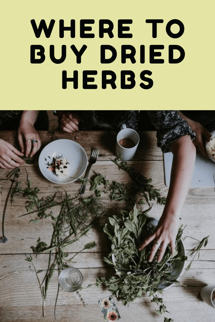 Where To Buy Dried Herbs | Natural Living | Fertility spells